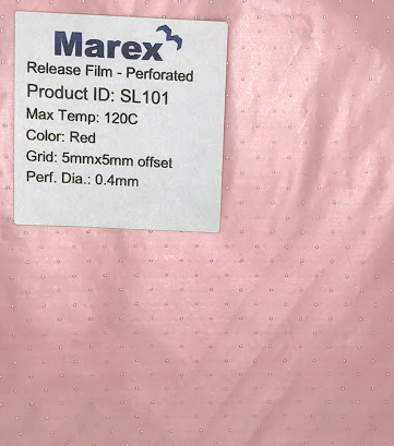 Marex SF101 Perforated Release Film